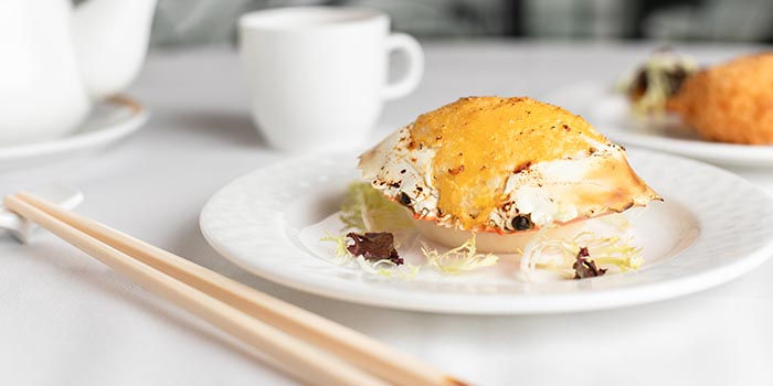 Baked Stuffed Crab, Celebrity Cuisine, Central, Hong Kong