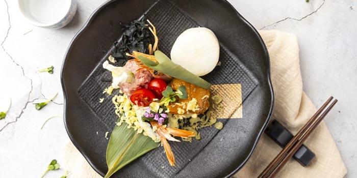 Sea Urchin Sushi, S2 Kitchen, Central, Hong Kong