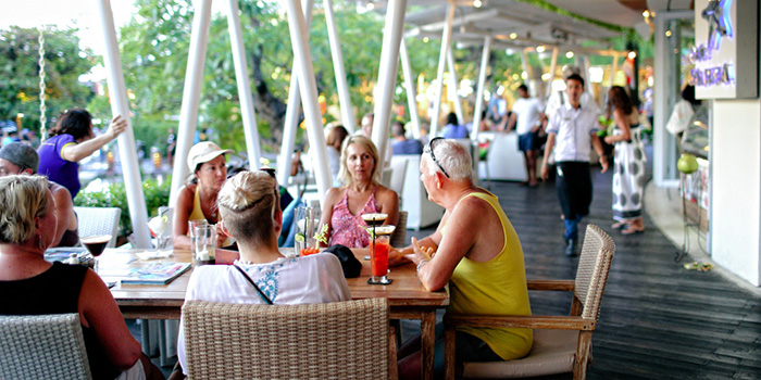 Ambience from Cafe Sardinia, Kuta, Bali
