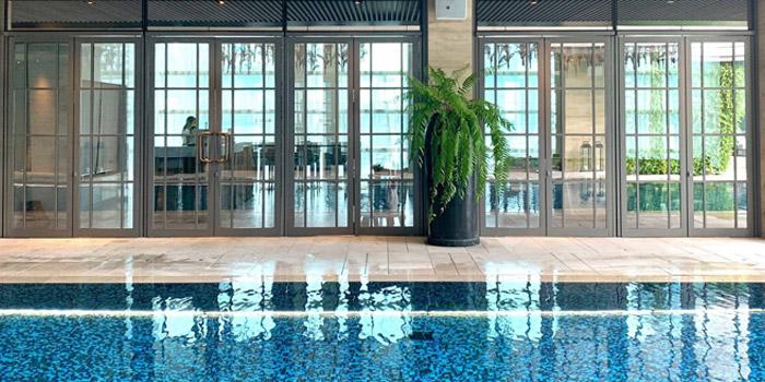 Ambience of G & O at Rosewood Bangkok Hotel 1041/38 Ploenchit Road Lumpini, Pathumwan Bangkok