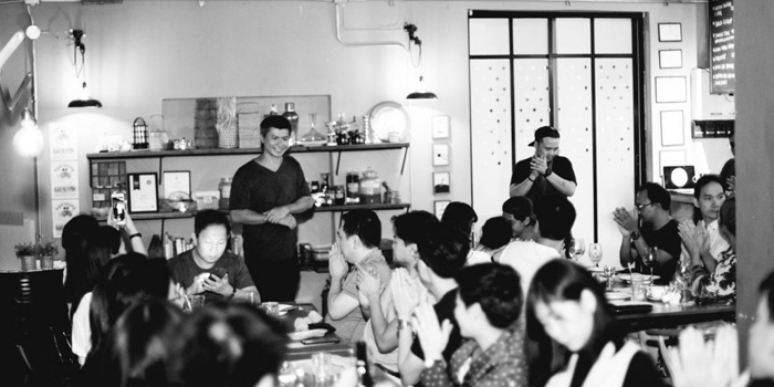 Ambience of Samrub for Thai at 102 Mahaset Road Si Phraya, Bang Rak Bangkok
