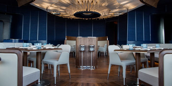 Ambience of Blue by Alain Ducasse at 1st Floor, ICONLUXE, ICONSIAM 299 Charoen Nakhon Road Khlong Ton Sai, Khlong San Bangkok