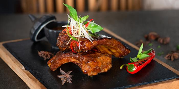 Food from 360 Roof Top Restaurant, Uluwatu, Bali