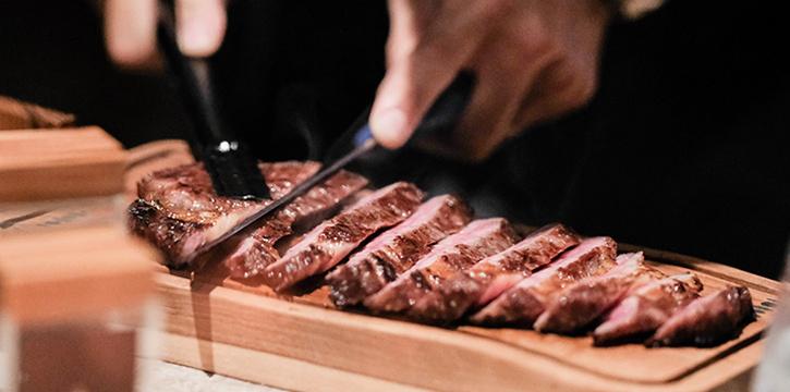 Food from Si Jin Steakhouse, Seminyak, Meat
