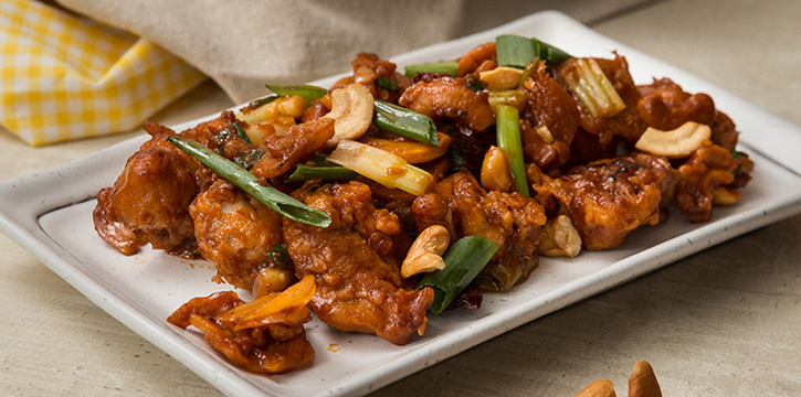 Kung Pao Chicken from Copper Chimney (Marina Bay Financial Center) in Marina Bay, Singapore