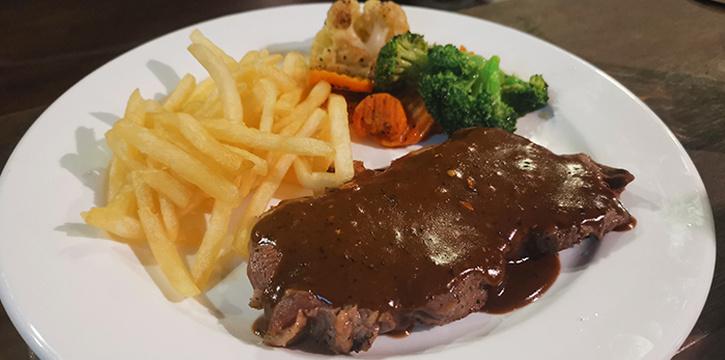 Sirloin Steak from Foresta Restaurant & Bar in Dempsey, Singapore
