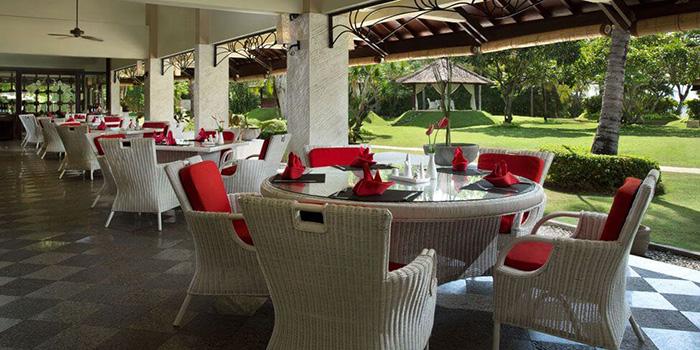 Interior from La Cucina Restaurant, Kuta, Bali