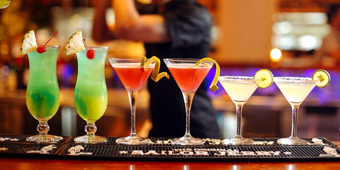 Drinks from Cafe Sardinia, Kuta, Bali