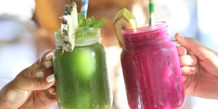 Drinks from Bukit Cafe, Uluwatu, Bali