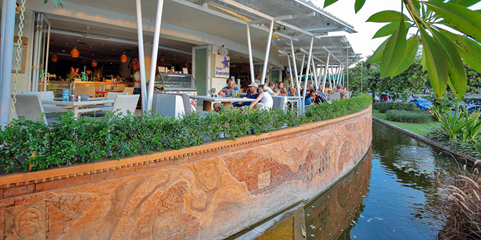 Exterior from Cafe Sardinia, Kuta, Bali