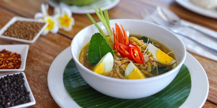 Food from Cafe Sardinia, Kuta, Bali