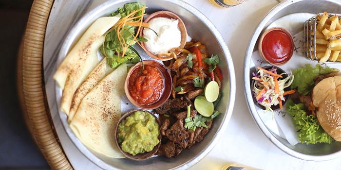 Food from Bukit Cafe, Uluwatu, Bali