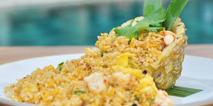 Food from Segara Seafood and Indonesian Restaurant, Kuta, Bali