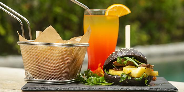 Food from Herbs and Stones Garden Restaurant, Seminyak, Bali