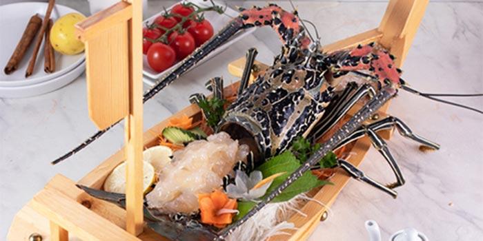 Lobster Sashimi at Bandar Djakarta (Pluit)