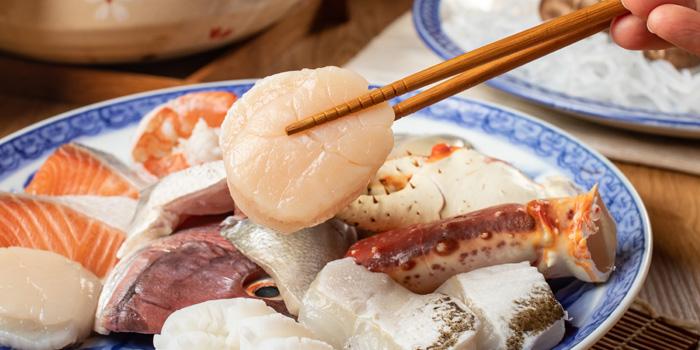 Mixed Fresh Seafood from Sushi Totoya at 8 The Horizon Soi Sukhumvit 63 Phra Khanong Nuea, Watthana Bangkok