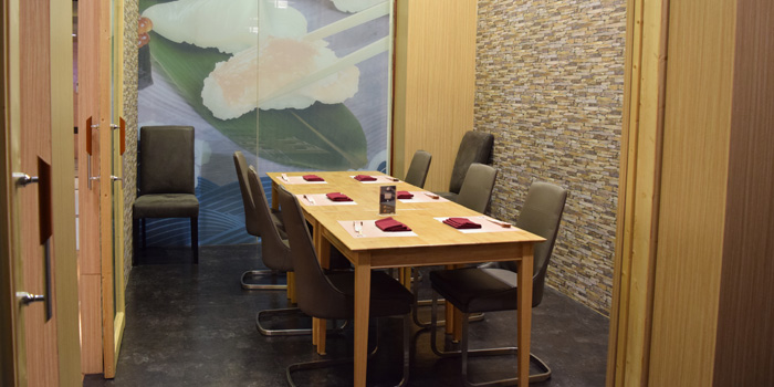 Private Dining Room of Sushi Totoya at 8 The Horizon Soi Sukhumvit 63 Phra Khanong Nuea, Watthana Bangkok