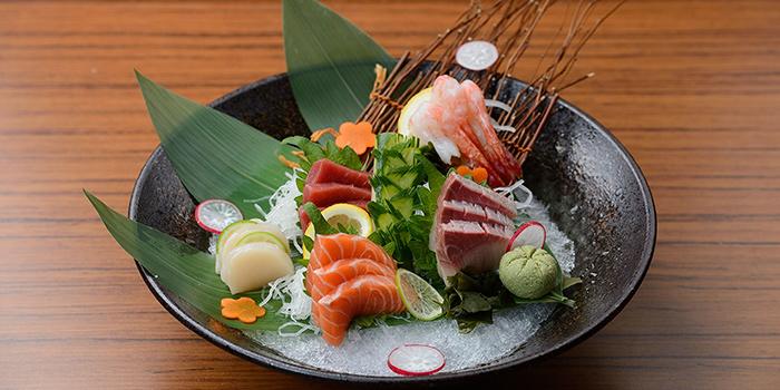Sashimi from TEN Sushi in Robertson Quay, Singapore