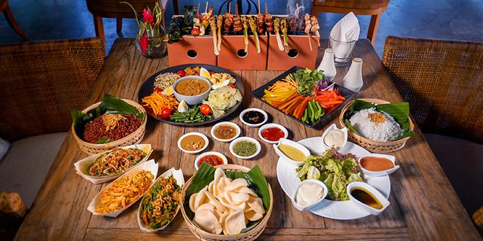 Food from Senja Bar & Resto, Ubud, Bali