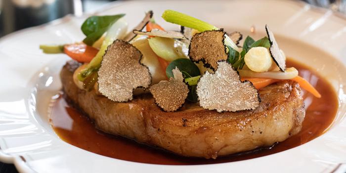 Signature Dish from Lakorn European Brasserie at Rosewood Bangkok Hotel 1041/38 Ploenchit Road Lumpini, Pathumwan Bangkok