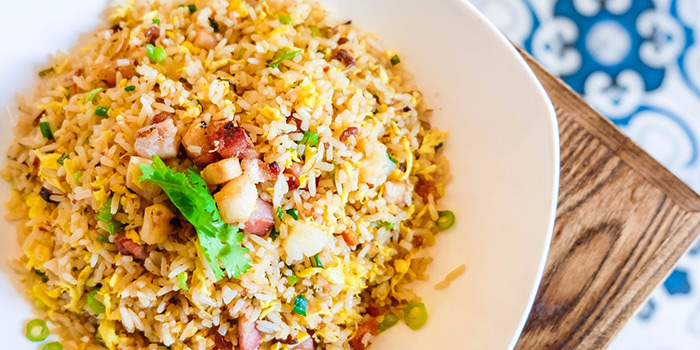 Signature Fried Rice from Char in Jalan Besar, Singapore