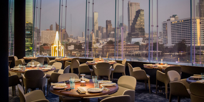 The View of Blue by Alain Ducasse at 1st Floor, ICONLUXE, ICONSIAM 299 Charoen Nakhon Road Khlong Ton Sai, Khlong San Bangkok