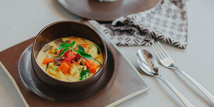 Food from Tanarasa Restaurant, Ubud, Bali