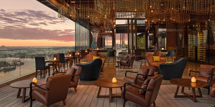 Ambience of SEEN Restaurant & Bar Bangkok at AVANI Riverside Bangkok Hotel, Charoennakorn Road, Bangkok