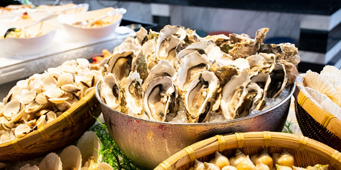 Oysters from Atrium Restaurant in Holiday Inn Singapore Atrium in Outram, Singapore