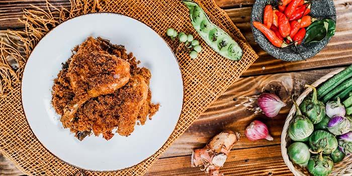 Ayam Bakar at Nyai Rasa Restaurant