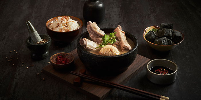 Bak Kut Teh from Po Restaurant at The Warehouse Hotel in Robertson Quay, Singapore