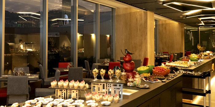 Buffet Table, The Haven, Tsim Sha Tsui, Hong Kong