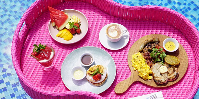 Pool from Flamingo Bali Family Beach Club