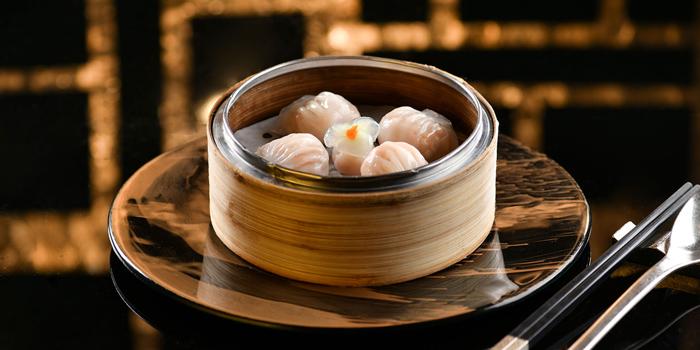Caledonia Blue Prawn Dumpling, Bamboo Shoot, Steamed, Ming Court, Mongkok, Hong Kong