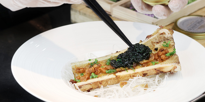 Caviar Bone Marrow from Uni Gallery by Oosterbay at The Plaza in Lavender, Singapore