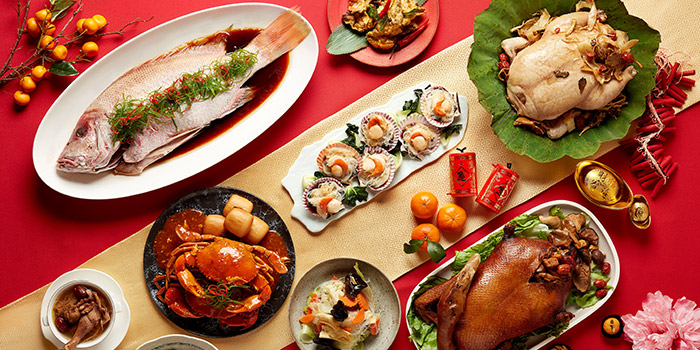 CNY Food Spread (24-27 Jan) from The Line in Shangri-La Hotel in Orchard, Singapore