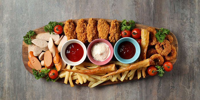 Combo Platter from Oops Bistro & Bar in Sembawang, Singapore