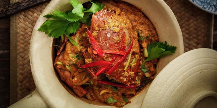 Crab Curry from Thai Lao Yeh at The Cabochon Hotel 14, Sukhumvit Soi 45 Sukhumvit Rd. Khlongtannua, Wattana Bangkok
