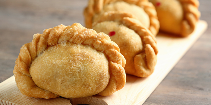 Curry Puff from Oops Bistro & Bar in Sembawang, Singapore