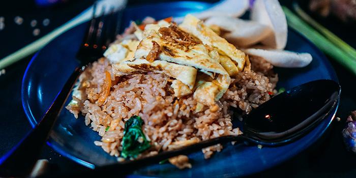 Food at Kraken, Bali