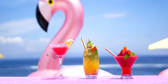 Drink from Flamingo Bali Family Beach Club
