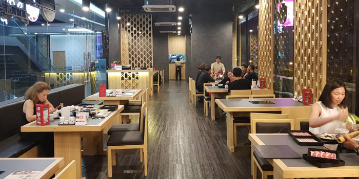 Dining Area of KAGONOYA @ Market Place Nanglinchee at Maze Thonglor 3th floor,Soi Thonglor4 Sukhumvit55, Klongton Nua Khlong Tan Nuea, Watthana Bangkok