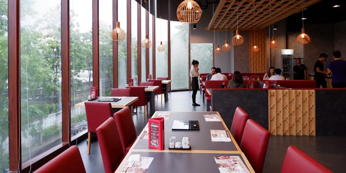 Dining Area of KAGONOYA @ Market Place Nanglinchee at Market Place Nanglinchee 27/1 Thung Mahamek Town Center Nanglinchee Rd, Chong Nonsi, Yan Nawa Bangkok