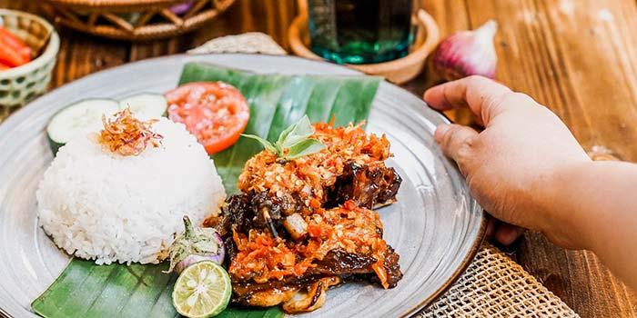 Dish 2 at Nyai Rasa Restaurant