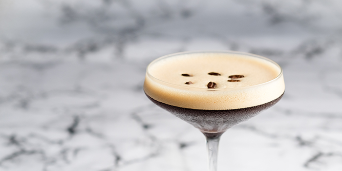 Espresso Martini from Switch by Timbre in City Hall, Singapore
