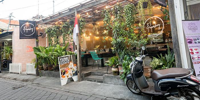 Exterior from Paperboy, Legian, Bali