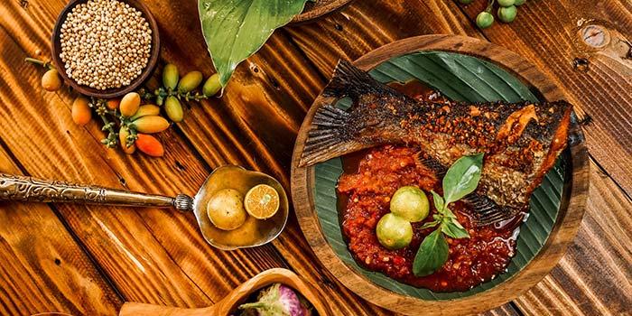 Ikan Bakar at Nyai Rasa Restaurant