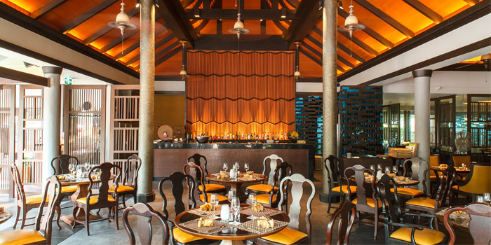 Indoor of Charm Thai in Patong, Phuket, Thailand