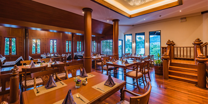 Interior of Thai Orchid Restaurant in Patong, Phuket, Thailand