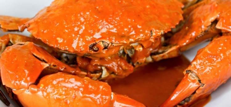 Kepiting Bumbu Rujak at Pesisir Seafood